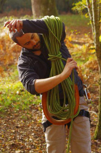 Apprendre à lover une corde